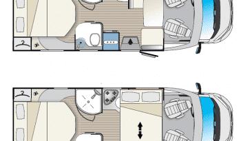 Autocaravana Blucamp Fly 25 S lleno