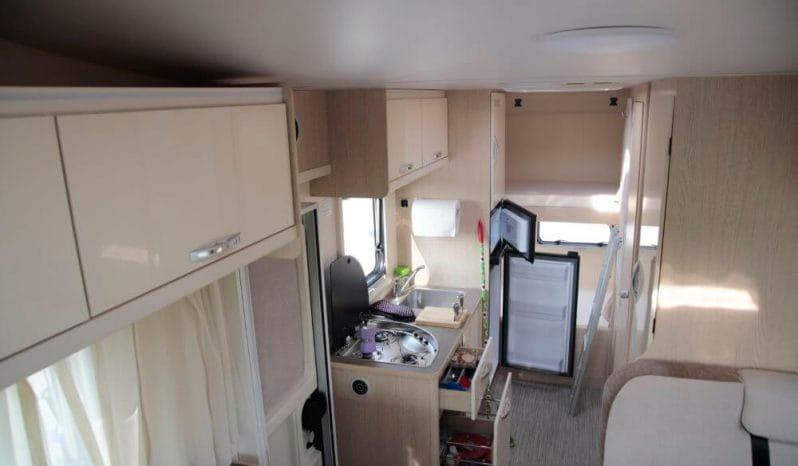 Autocaravana Blucamp Fly 71 lleno
