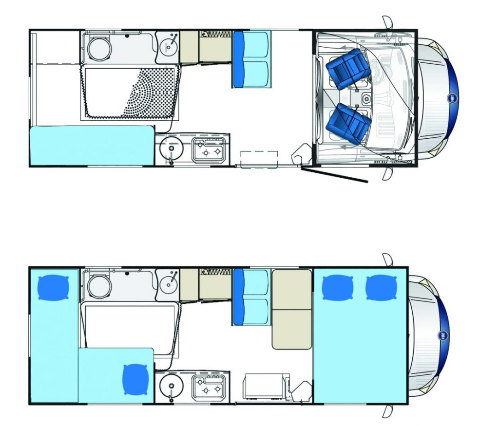 Autocaravana adaptada para personas con movilidad reducida