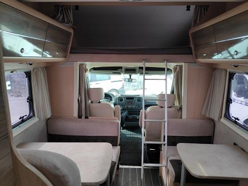 Autocaravana de segunda mano Blucamp Sky 71 lleno
