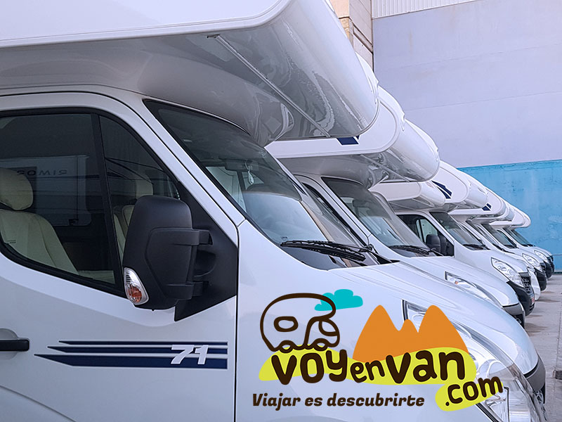 Parking para caravanas y autocaravanas en Madrid