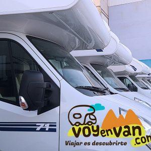 Área de servicios para autocaravanas en Madrid