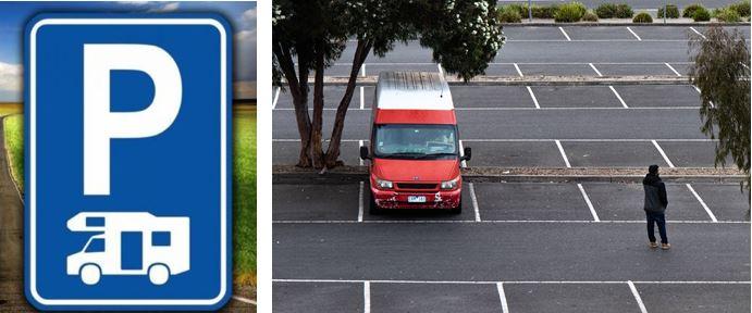Dónde aparcar una autocaravana