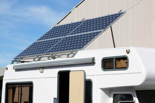 Placas solares en autocaravanas