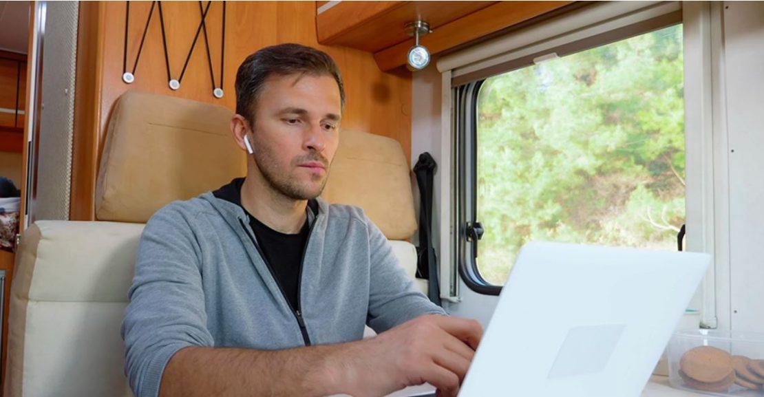 Cómo puedes tener internet en tu autocaravana