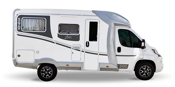 Autocaravana Ilusion XMK 590FT H lleno
