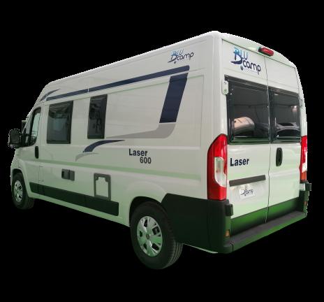 Furgoneta Camper Blucamp Laser 600 Max camper de ocasión lleno